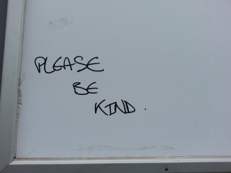 please be kind 26 june